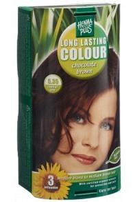 HENNA PLUS Long Last Colour 5.35 chocolat braun