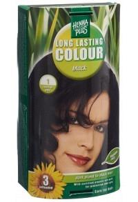 HENNA PLUS Long Last Colour 1 schwarz