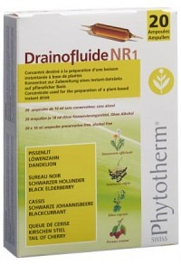 DRAINOFLUIDE NR 1 20 Trinkamp 10 ml