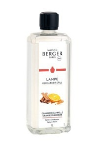 MAISON BERGER Parfum orange de cannelle 1 lt