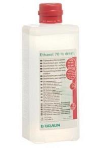BRAUN Ethanol 70 % für Flächen Ovalfl 500 ml