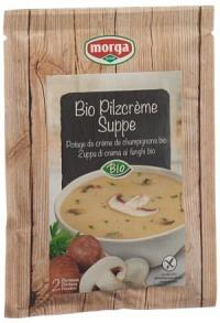MORGA Pilzcreme Suppe Bio 42 g