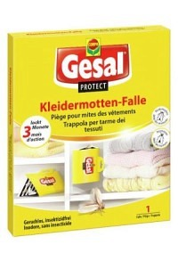GESAL PROTECT Kleidermotten-Falle (Achtung! Versand nur INNERHALB der SCHWEIZ möglich!)
