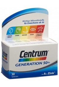 CENTRUM Generation 50+ Tabl 30 Stk