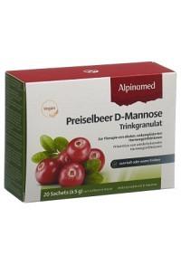 ALPINAMED Preiselbeer D-Mannose Trinkgr 20 Btl 5 g