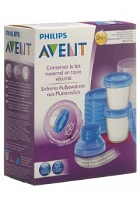AVENT PHILIPS VIA Muttermilch Becher Set