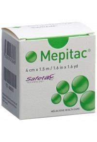 MEPITAC SAFETAC Fixierverband 1.5mx4cm Silikon