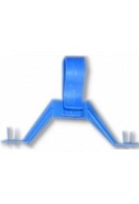 GRIBI Urias Urinbeutel Aufhänger Kunststoff blau
