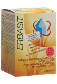 ERBASIT Mineralsalz Plv ohne Lactose 240 g