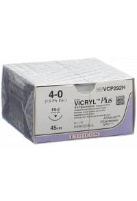 VICRYL PLUS 45cm ungefärbt 4-0 FS-2S 36 Stk