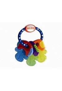 NUBY Beissring Schlüssel mit Eisgel