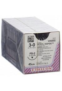 VICRYL RAPID 45cm ungefärbt 3-0 FS-2 12 Stk