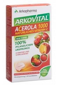 ARKOVITAL Acerola Arko Tabl 1000 mg 30 Stk
