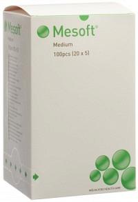 MESOFT NW Rundtupfer 35mm steril 20 x 5 Stk