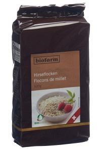 BIOFARM Schweizer Hirseflöckli Knospe 500 g