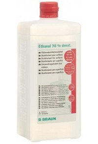 BRAUN Ethanol 70 % für Flächen Ovalfl 1 lt