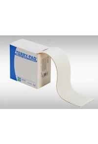 LOMED Terry Pad Polster 4cmx4m weiss dehnbar Rolle