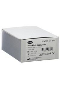 DERMAPLAST ISOPOR Fixierpfl 2.5cmx10m vl hf 12 Stk