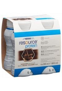 RESOURCE Protein Schokolade 4 x 200 ml