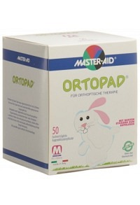 ORTOPAD Occlusionspflast Medium weiss 2-4J 50 Stk