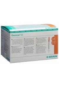 OMNICAN Insulin 50 0.5ml 0.3x12mm G30 einzel 100 x