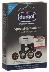 DURGOL swiss espresso Spezial-Entkalker 2 x 125 ml
