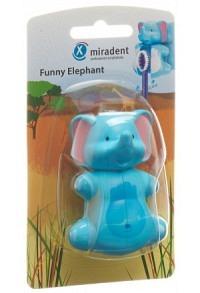 MIRADENT Funny Snapper Zahnbürstenhalter Elefant