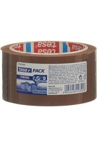 TESA PP-Verpackungsband 66m:50mm braun strong