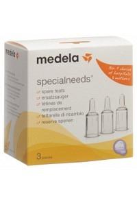 MEDELA Ersatzsauger zu Special Needs 3 Stk