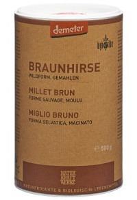 NATURKRAFTWERKE Braunhirse gemahlen Demeter 500 g