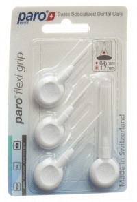 PARO Flexi Grip 1.7mm xxxx-fine weiss zylind 4 Stk