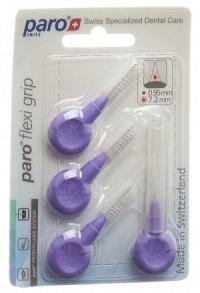 PARO Flexi Grip 8mm mittel-grob violett zyl 4 Stk