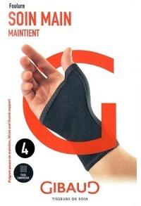GIBAUD Handgelenk-Daumenbandage anatom Gr1 14-15cm