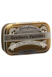 GRETHERS Elderflower Past ohne Zucker Ds 110 g