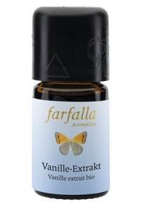 FARFALLA Vanille Extrakt Äth/Öl Bio Fl 5 ml