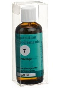 BIOLIGO No 07 Préparat d'oligoéléments Fl 100 ml