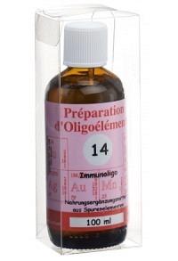 BIOLIGO No 14 Préparat d'oligoéléments Fl 100 ml