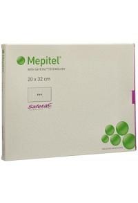 MEPITEL Wundauflage 20x32cm Silik 5 Stk