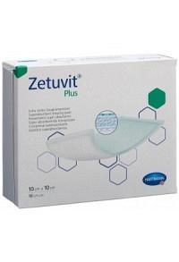 ZETUVIT Plus Absorptionsverband 10x10cm 10 Stk
