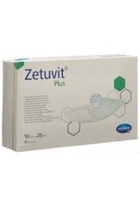 ZETUVIT Plus Absorptionsverband 10x20cm 10 Stk