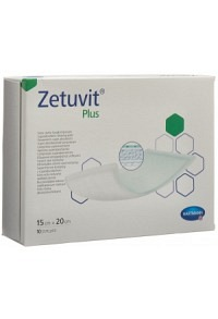 ZETUVIT Plus Absorptionsverband 15x20cm 10 Stk