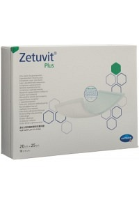 ZETUVIT Plus Absorptionsverband 20x25cm 10 Stk