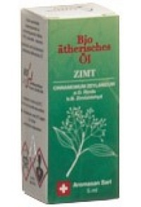 AROMASAN Zimt Rinde Äth/Öl in Schachtel Bio 5 ml