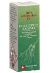 AROMASAN Eukalyptus radia Äth/Öl Schacht Bio 15 ml