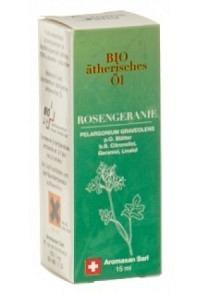 AROMASAN Rosengeranie Äth/Öl Schachtel Bio 15 ml