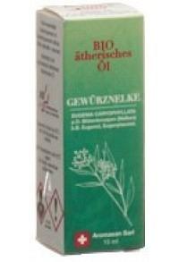 AROMASAN Gewürznelke Äth/Öl in Schachtel Bio 15 ml