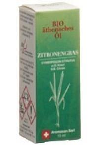 AROMASAN Zitronengras Äth/Öl Schachtel Bio 15 ml