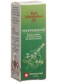 AROMASAN Pfefferminze Äth/Öl Schachtel Bio 15 ml