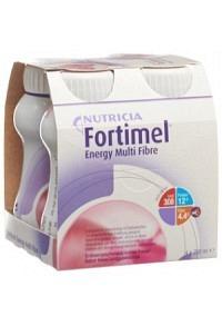 FORTIMEL Energy Multi Fibre Erdbeer 4 Fl 200 ml