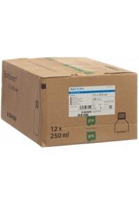 NACL Braun 0.9 % 250ml West Ecotainer 12 Stk
